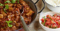 A flavoursome lamb dhansak recipe from Mary Berry. This curry dish combines diced lamb and lentils with fragrant ginger root, Indian spices and sweet honey.