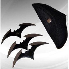 I found 'Throwing Knife 3 Pcs Set Batman' on Wish... Can I use these to keep the bad guys away? Please?!