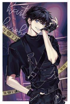 Garçon Anime Hot, Dark Anime Guys, Cool Anime Guys, Handsome Anime Guys, Anime Oc, Fanarts Anime, Anime Angel, Anime Characters, Manga Anime