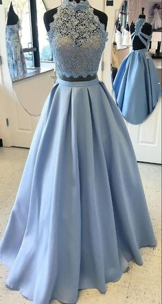 Blue Ball Gown Evening Prom Dresses Comfortable #prom #promdress #dress #eveningdress #evening #fashion #love #shopping #art #dress #women #mermaid #SEXY #SexyGirl #PromDresses
