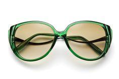 GAHHH LOVE!  80's collection - foxface cat eye sunglasses - 80's | 80's Purple