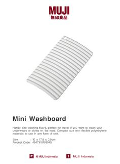 Mini Washboard  Handy size washing board a76497ec7a6