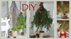 DIY- Winter- und Weihnachtsdeko basteln - Bäume aus Zweigen im Shabby Chic-/Landhausstil I How to
