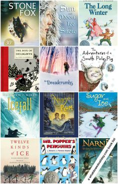 16 awesome chapter books with a winter theme. Snuggle up with the kids for a read aloud session! Click to get the entire list.