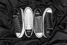 4a29dcd87a94 fragment design dresses up the Converse Chuck Taylor All Star with the  premium twill fabrication traditionally found on a tuxedo.