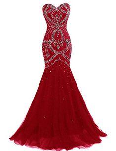 Prom dress red 9 gun