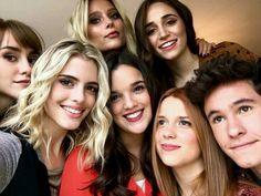 Malu avec Katja, Valentina,Anita,Carolina,Michael et Chiara