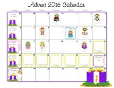 Life, Love, & Sacred Art: FREE Advent Calendar, Coloring Page and Activity P...