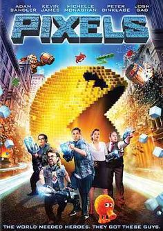 #BlackFriday2015 Pixels (DVD) http://www.overstock.com/Books-Movies-Music-Games/Pixels-DVD/10407278/product.html?CID=245307