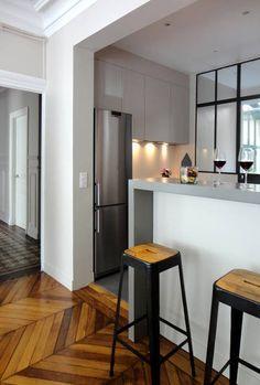 miniature Une cuisine ultra-chic à Levallois, Levallois-Perret, Les Murs ont des oreilles - architecte d'intérieur