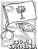 Beach Coloring Pages | Myrtle Beach Coloring Page  | title