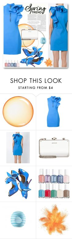 """""""What a Frill: Ruffles"""" by andrea2andare ❤ liked on Polyvore featuring Seletti, Dsquared2, Miu Miu, Christian Louboutin, Essie, Eos, ruffles and polyvoreeditorial"""