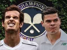 Andy Murray v Milos Raonic in Wimbledon final