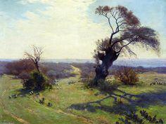 Matin au printemps, 1913 de Robert Julian Onderdonk (1882-1922, United States)