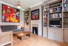 Property for sale in Trinity Green, Mile End Road, London Fireplace Shelves Bookcase