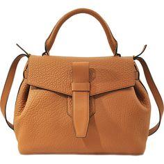 Lancel Charlie Handbag (10,655 EGP) ❤ liked on Polyvore featuring bags, handbags, beige, handbags purses, beige bag, brown purse, lancel handbags and brown hand bags