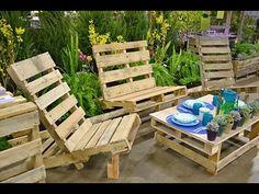 Diy Pallet Furniture | Diy Pallet Adirondack Chairs | Diy Pallet Furnitu...
