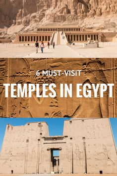 6 must-visit temples in Egypt Always wanted to visit Egypt? Here are 6 must-visit temples for your next trip to Egypt, including world famous ones such as Abu Simbel and Karnak. BONUS: a video of all 6 temples! Places To Travel, Places To See, Travel Destinations, Egypt Travel, Africa Travel, Vietnam Travel, Chobe National Park, National Parks, Road Trip