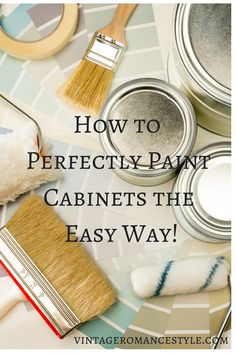 How to Perfectly Paint Kitchen Cabinets the Easy Way with Benjamin Moore Swiss Coffee!