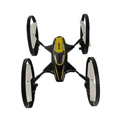 Lanpu 6-Axis 2.4Ghz 1-Key home Return Quadcopter wheel 2-in-1 Flying Car Remote Control Drone *** Read more  at the image link.