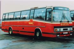 'PARAMOUNTS' - An offside view of Plaxton Paramount bodied Leyland Tiger, fleet number 621. This was one of the last Leyland vehicles purchased by Barton Transport
