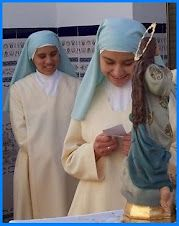 Nuns Always loved the Blue Habits thought they looked just like Mary.