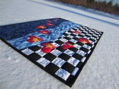 Quilt Photos in the Snow