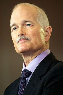Jack Layton. Sure, I didn't know anything about him until after his death. From what I gathered, a lot of people loved him, and his last letter to the nation of Canada was quite inspirational... and makes me wonder what it would have been like if he had been elected prime minister, even if for a short time.