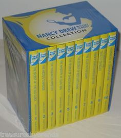 Nancy Drew Mystery Stories Collection Hardcover Book Boxed Set Lot NEW but AS IS