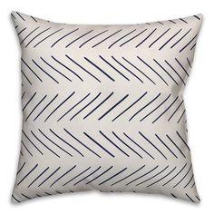 Wrought Studio Elzira Modern Chevron Throw Pillow Cover Colour: White/Grey, Size: x Fill Material: Polyester/Polyfill