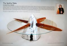 Propeller coffee table..