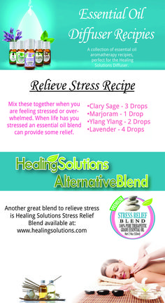 Case of the mondays? Just stressed out? Try using essential oils to soothe away all the tensions of a rough day.