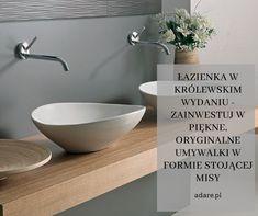 Luksus i elegancja – to brzmi lepiej niż dobrze! Jeśli marzy Ci się łazienka jak z katalogu, jeśli pragniesz zażywać kąpieli w miłym dla oka anturażu i czujesz słabość do pięknych rozwiązań projektowych w królewskim wydaniu, postaw na luksusową armaturę łazienkową dopasowaną do oczekiwań najbardziej wymagających użytkowników. Sink, Home Decor, Sink Tops, Vessel Sink, Decoration Home, Room Decor, Vanity Basin, Sinks, Home Interior Design