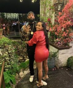 Heartbroken Lauren London has finally reacted to the death of her man Nipsey Hussle. The actress who has been with the slain rapper fo. Black Relationship Goals, Couple Goals Relationships, Black Love Couples, Cute Couples Goals, Dope Couples, Romantic Couples, Beautiful Couple, Black Is Beautiful, Absolutely Gorgeous