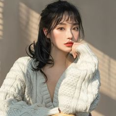 Korean Beauty Girls, Pretty Korean Girls, Cute Korean Girl, Asian Beauty, Ulzzang Hair, Ulzzang Korean Girl, Uzzlang Girl, Long Black Hair, Cute Girl Face
