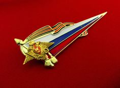Original-Russian-Army-Metal-Pin-Badge-Flag-of-Russian-Federation-on-Beret-New