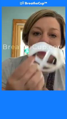The BreatheCup™ is a small device that fits inside your mask that protects your lipstick/makeup from smudging and prevents your glasses from fogging up. Easy Face Masks, Diy Face Mask, Cool Gadgets To Buy, 3d Prints, Useful Life Hacks, Diy Mask, Cool Things To Buy, Stuff To Buy, Dandy