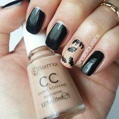 Bats, black, nail