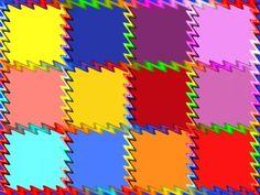Crazy Squares (63 pieces)