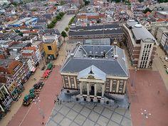 Grote Markt & City Hall, Groningen, Netherlands