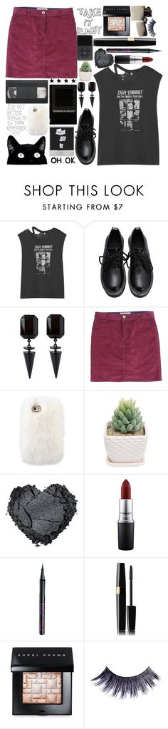 """ skype and snapchat "" by casey-yolo ❤ liked on Polyvore featuring moda, R13, Brakeburn, MAC Cosmetics, Barry M, Bobbi Brown Cosmetics, Zippo, Manic Panic, women's clothing y women's fashion"