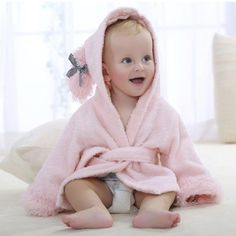 High quality winter Baby Bathrobe Cartoon Hooded Towel Pajamas aa4288860