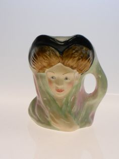Vintage Arthur Bowker English Mini Toby Jug Catherine Howard Made in England