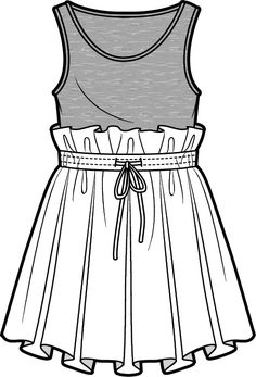Doll tank and skirt
