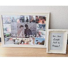 前撮り写真を使った手作り結婚式ウェルカムボードまとめ | marry[マリー] Polaroid Film, Weddings, Happy, Wedding, Ser Feliz, Marriage, Being Happy