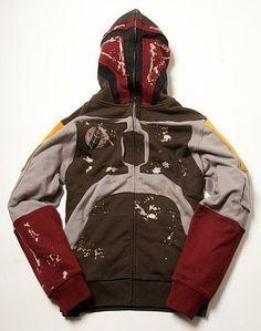 Star Wars Boba Fett Fullzip Hoodie