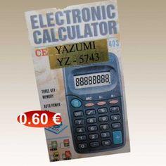 Κομπιουτεράκι 0,60 €-Ευρω Calculator, Electronics, Consumer Electronics