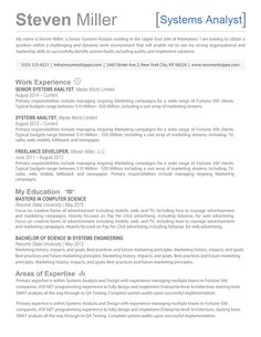 the steven resume template is an effective creative resume for professionals that want to stand out - Creative Resume Templates For Mac