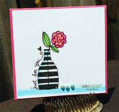 Vase with Stripes - Unity Stamp Co