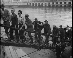 It was dubbed the Miracle of Dunkirk. Between 27 May and the early hours of June 1940, allied soldiers from the beaches of Dunkirk were evacuated. Classic newsreel: http://www.britishpathe.com/video/evacuation-of-the-bef